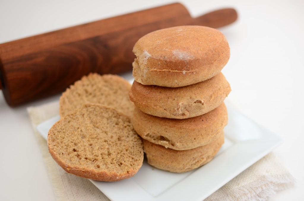 bread bun stack