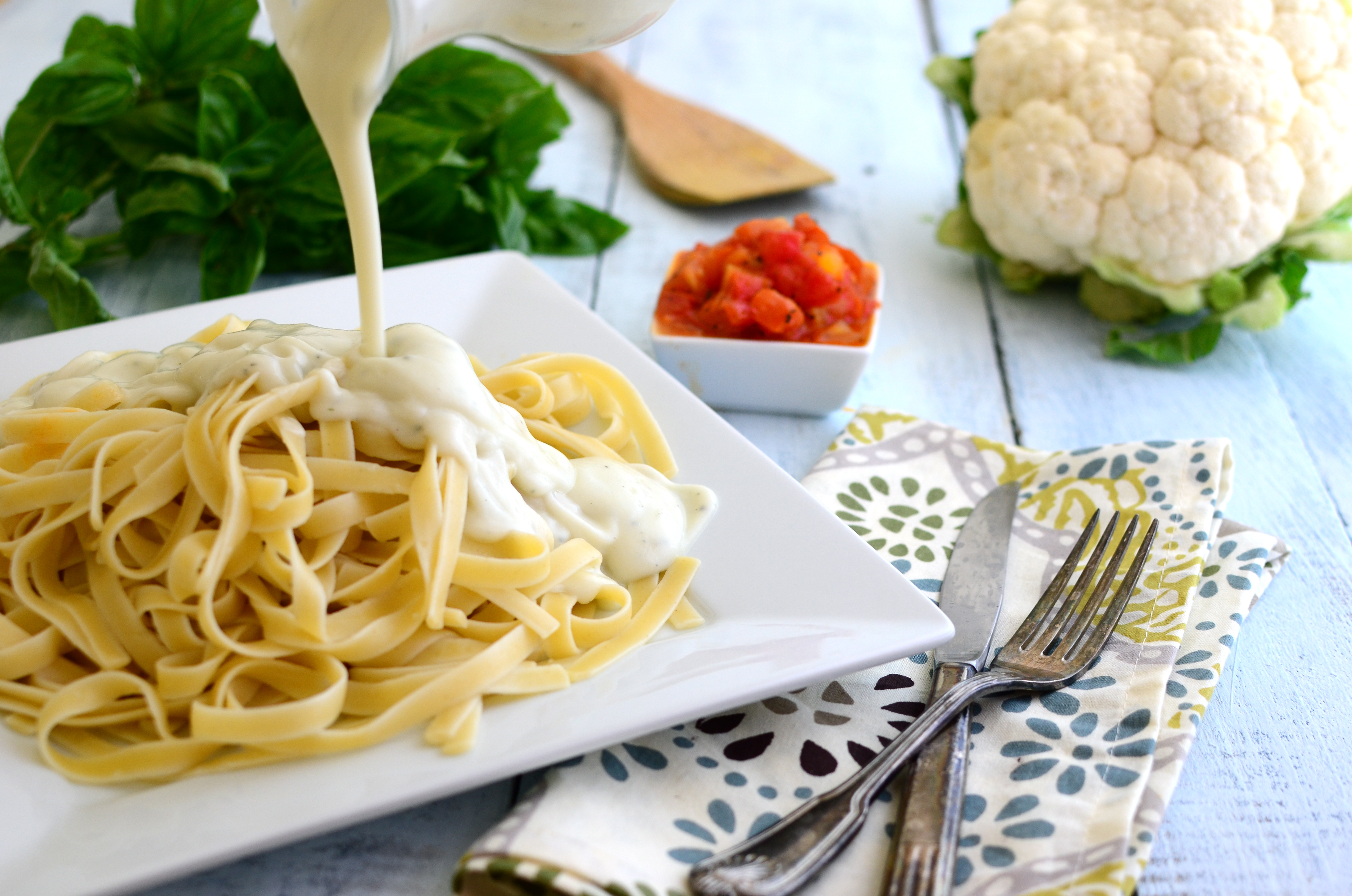 Cauliflower sauce recipe pasta