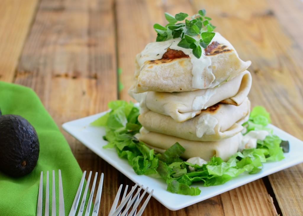 tofu wraps