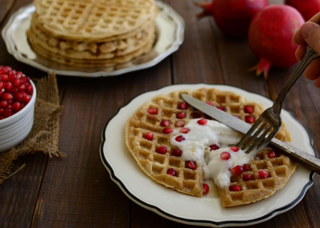 oat waffles 4