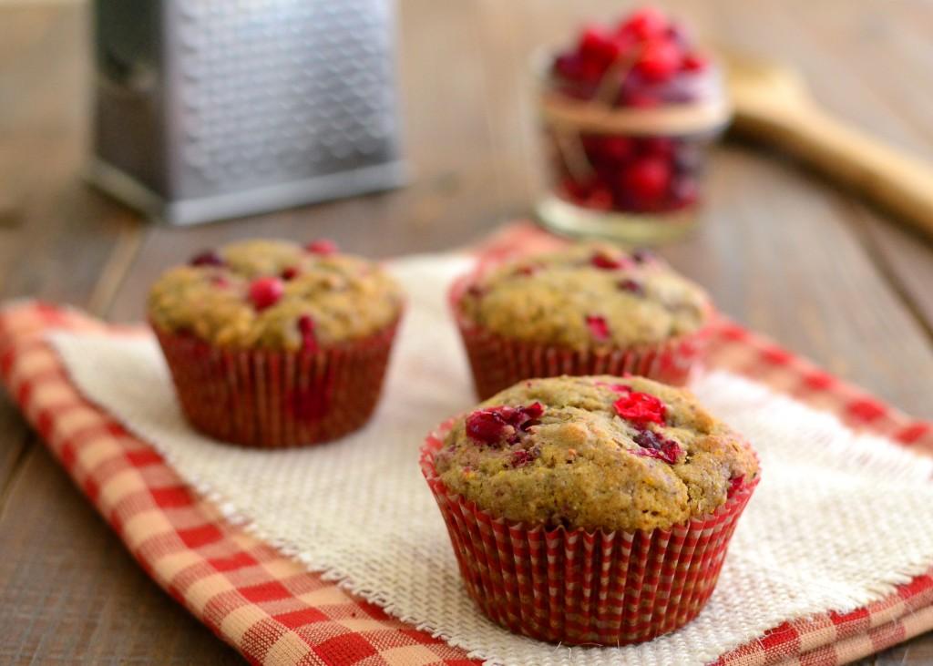 cranberry muffins 2