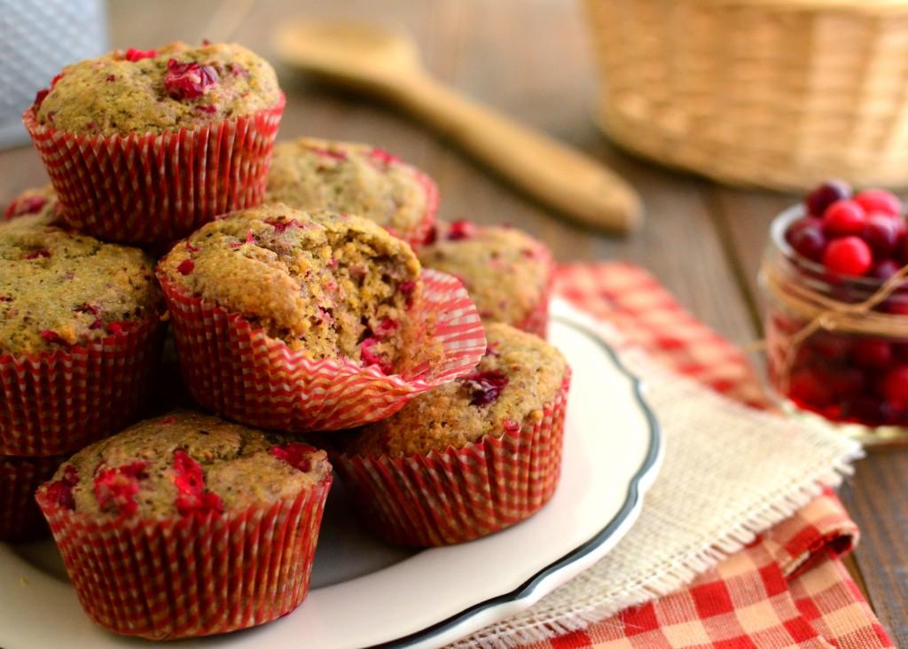 cranberry muffins 5