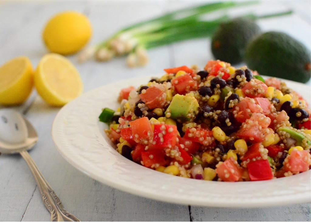 Black Bean Quinoa Mexi-Salad